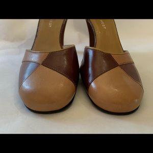 Nine West Ankle Strap closed toe career heels